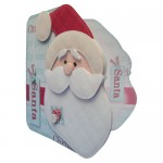 I Believe In Santa Shaped Fold Card - view 2