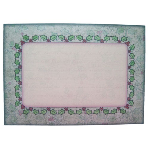 Winter Church Rounded Corner Fold Card - envelope front