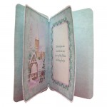Winter Church Rounded Corner Fold Card - inside view
