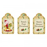 First, Second or Young Child's Christmas Gift Set - tags