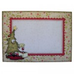 A Post Christmas Thank You Rounded Corner Fold Card -envie front