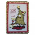 A Post Christmas Thank You Rounded Corner Fold Card - view 1
