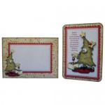 A Post Christmas Thank You Rounded Corner Fold Card - set