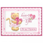 My Heart Purrs for You Card Front