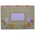 Easter Greetings Decoupage Over The Top Card - envelope