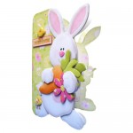 Hoppy Easter Shaped Fold Card - view 2