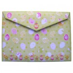 Hoppy Easter Shaped Fold Card - envelope back