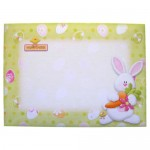 Hoppy Easter Shaped Fold Card - envelope front