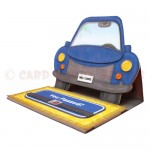 My Car Multi-Use Shaped Easel Card - view 2