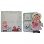 Eskimo Greetings Shaped Fold Card - finished set