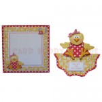 One Cute Chick Wavy Edged Over The Top Card - finished set