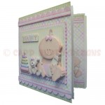 A New Baby Girl Fold Card - view 2