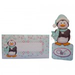 Penguin Over The Top Card - finished set