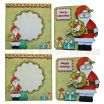 Christmas Greetings Shaped Fold Card - finished sets