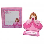 Little Princess Shaped Easel Card - finished set