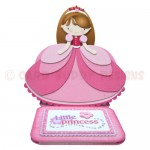 Little Princess Shaped Easel Card - view 1