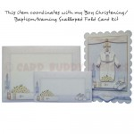 Boy Christening/Baptism/Naming Money Envelope - matching card