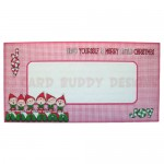 A Merry Little Christmas Over The Top Easel Card -envelope front