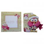 Happy Owl-idays Shaped Fold Card - finished set