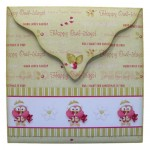 Happy Owl-idays Shaped Fold Card - envelope back