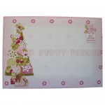 Under the Tree 3D Shaped Fold Card Kit - envelope front