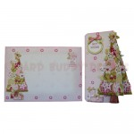 Under the Tree 3D Shaped Fold Card Kit - finished set