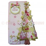 Under the Tree 3D Shaped Fold Card Kit - view 1