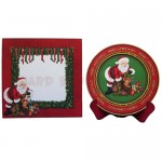 Santa's Last Delivery Plate Card - finished set