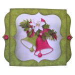 Christmas Bells Shadow Box Fold Card - view 1