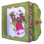 Christmas Bells Shadow Box Fold Card - view 2