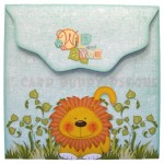 Wild About You Double Decker Wavy Edged Round Easel Card 5