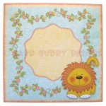 Wild About You Double Decker Wavy Edged Round Easel Card 4