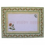 Sunflowers Assymetric Fold & Side Panel Card - envelope front