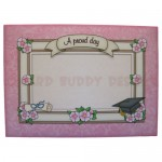 Female Graduation Arched Fold Card - envelope front