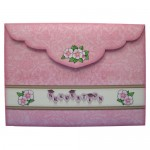 Female Graduation Arched Fold Card - envelope back
