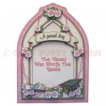 Female Graduation Arched Fold Card - view 1