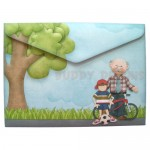 Fun with Grandpa Shaped Fold Card - envelope back