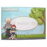 Fun with Grandpa Shaped Fold Card - envelope front