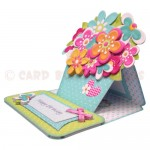 Sunshine & Flowers Shaped Easel Card - view 2