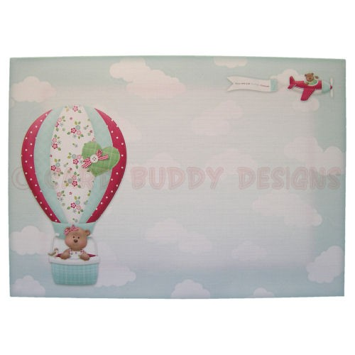 Flying By Shaped Fold Card - envelope front
