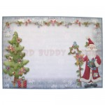 Glad Tidings Shaped Fold Card - envelope front