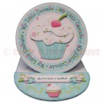 My Little Cupcake Round Easel Card - view 1