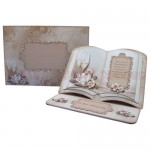 Weddings, Anniversaries & Engagements Open Book Easel Card 6