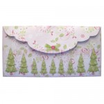 By The Tree 3D Shaped Fold Card - envelope back