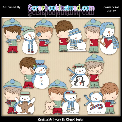 Arnold Let It Snow 2 EXCLUSIVE ClipArt Collection - Click Image to Close