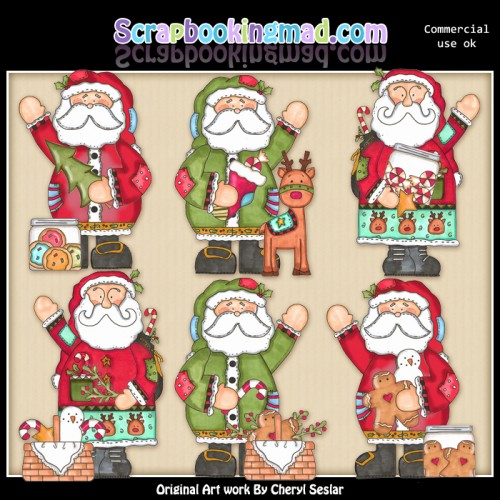 Christmas Nick ClipArt Collection - Click Image to Close