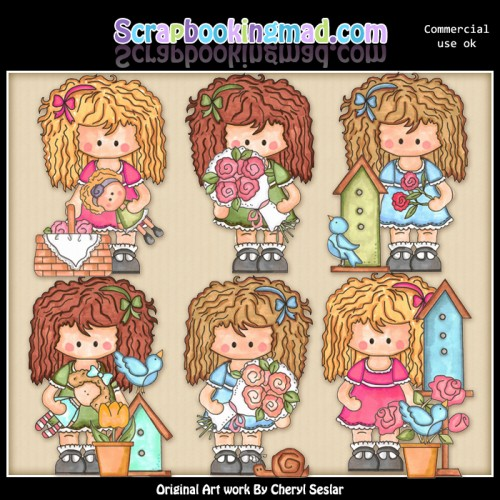 Betsy Loves May Day ClipArt Collection - Click Image to Close
