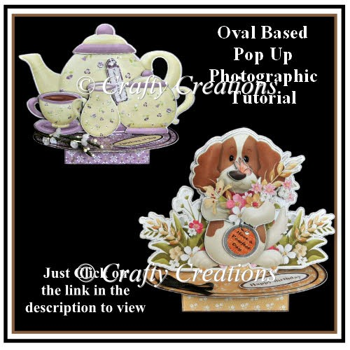 Oval Based Pop Up - Photographic Tutorial - Click Image to Close