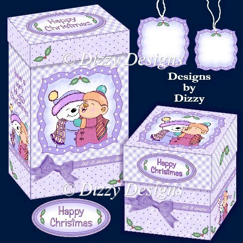 Christmas Hugs Gift Boxes - Click Image to Close