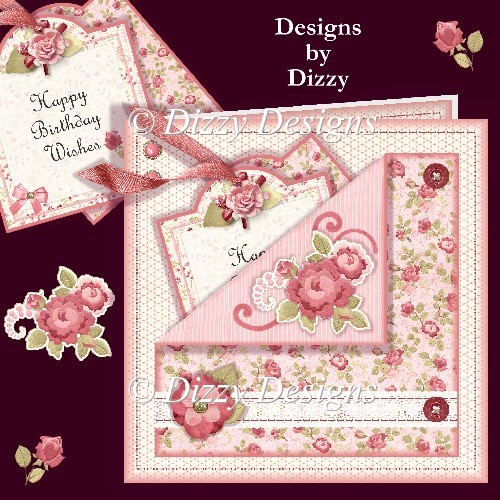 Forever Roses Pocket Card - Click Image to Close